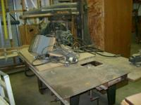Cast iron and steel Industrial Radial Arm saw, 16""