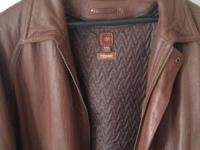XXL Brown leather Wilson Jacket. Great Condition! ...I