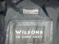 I selling my Wilson's leather jacket (excellent