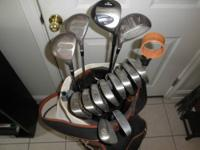 Prostaff Oversized Clubs: 3,4,5,6,7,8,9 and Pitcher