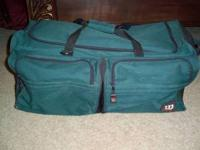 This bag is large and in great condition. The bottom of