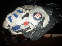 "Wilson T-Ball Glove Size 10"" For Left handed thrower EZ"