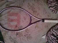 only used it for one season of tennis. in good
