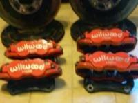 "Wilwood GM Brakes 13"" Frnt & Rear Rotors 2-6 Piston 2-4"