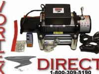 We offer a full line of heavy duty winches for any