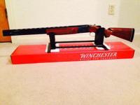 WINCHESTER 101 12 gauge shotgun. Field grade o/u with