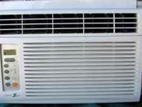 Zenith Window AC unit. Model ZW6500R with remote