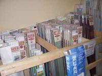 We have an assortment of window blinds for sale in