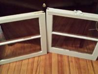 2 window panes. Great for multiple projects