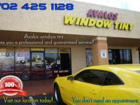 Avalos Window Tinting gives Las Vegas with high quality