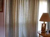 Window treatment set (draperies and Sheers) 1 pair one