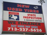 oil changes, used tires, windshield repair,rim repair