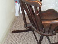 Antique/ vintage Child's Rocker..$75 OBO....I was told