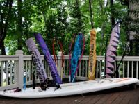 Fox Fanatic Windsurfer Board with:. See the pictures