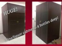 600E-Model Economy Wine Cabinet with 2 Doors ASKING