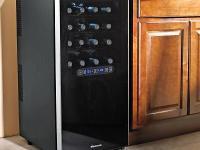 WINE ENTHUSIAST Wine Refrigerator ----- Free Standing