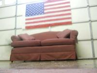 This is a really lovely colored loveseat. Would look