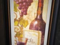 The one picture with grapes and a wine bottle is $10.00