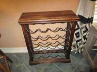 WOOD AND WROUGHT IRON MARK -  Location: