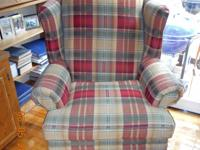 Large Wingback chair in absolutely excellent condition.