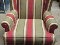 WINGBACK CHAIR FOR SALE. Excellent condition, only ever