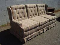 This is a lovely couch.Very firm and good looking.Has