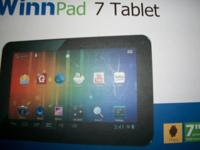 Like New! 7inch Tablet Great for teen or grownup. Case