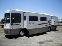 2002 WINNEBAGO JOURNEY ?TWO SLIDE-OUTS!!! ?Central air