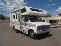 1987 WINNEBAGO MINNIE Model: WF421RB 21 FT CLASS C FORD