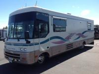 1996 Winnebago Vectra 34RA with only 34,000 Miles on a