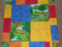 Measures 31 by 31 inches Picture 1: Front of quilt