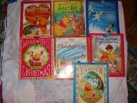 I have 7 Winnie the Pooh books for young readers.