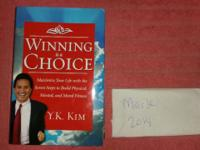 Signed, Winning is A Choice, Y.K. Kim. Mint condition.