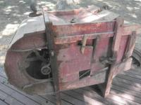 I have a late 1800's early 1900's winnowing machine for