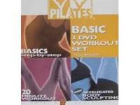 Winsor Pilates Basic 3-DVD Workout Set Perfect