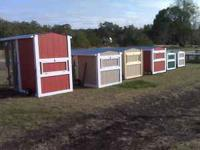 These are very useful and good looking chicken coops.