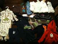I have a winter lot of boys' 6-9 month clothing for