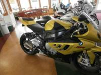 Up for winter special is a beautiful 2010 BMW S1000RR