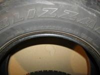Selling a set of Goodyear Blizzak winter