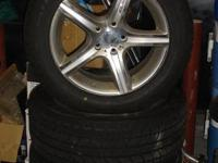 Winter Wheel/Tire Package Used for 1 winter (less than