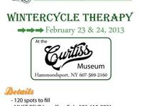 WinterCycle Therapy over 100 old and odd motorcycles on
