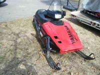 1987 yamaha phazer 485 fan cooled engine 5500 miles