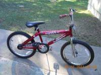 20 inch wipeout bike. good condition. call or text if