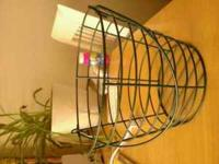 Wire Egg basket its Green in great condition call Tony