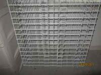 Selling White Wire Scrapbook Rack with 30 paper slots,