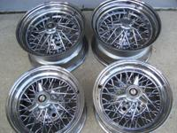 Selling set of four weldwheels truespoke rims two 15x8
