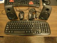 I have a Logitech wireless keyboard and mouse set for