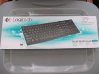 This is a new wireless keyboard, unused, only