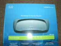 Easy to install Wireless-N Home Router...Linksys by