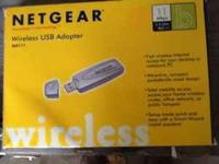 I have a Netgear MA111 wireless USB adapter for sale.
